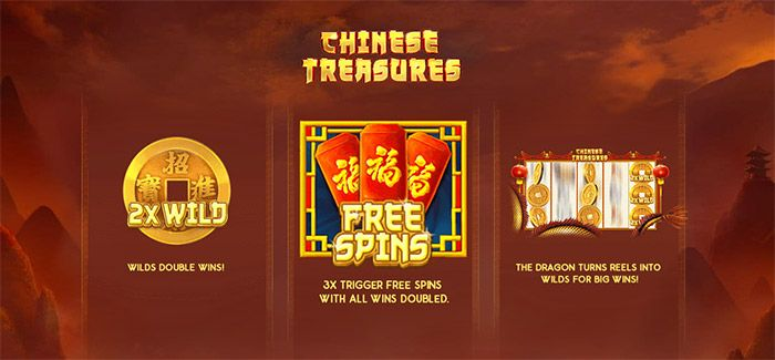 chinese treasures format